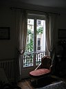 Paris apartment living room pix 3: 6th arrondissement rue des Chartreux; Luxembourg Gardens
